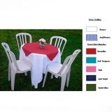 locação de mesas para festa Jardim Leonor